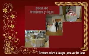 Boda de Williams y Ogla
