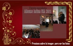 Fiesta navideña Alianza USA 2011