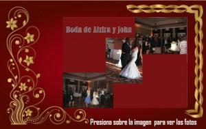 Boda de Alzira y John