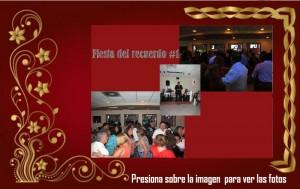 """Fiesta del recuerdo #1 Restaurante """"El Amate"""""""