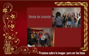 Fiesta navideña de Aracely