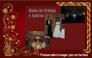 Boda de Erwing y Andrea
